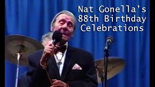 Nat Gonella celebrates his 88th birthday