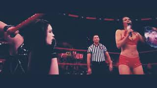 Fighting with my family (2019) Paige vs AJ