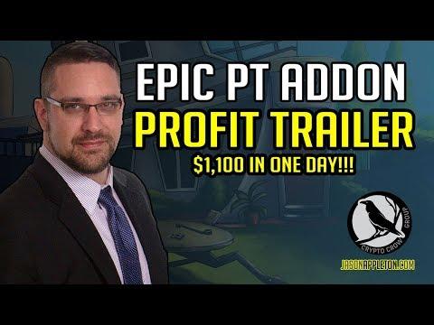 EPIC Profit Trailer Addon  PT FEEDER = $1100 in 1 Day