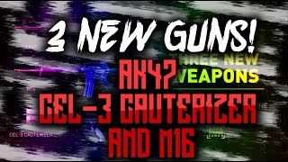 cod aw 3 new guns ak47 cel 3 cauterizer and m16 dlc   xb1 august 25th multiplayer