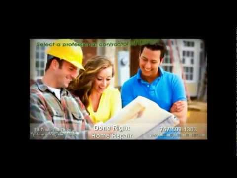 Home Repair and Home Remodeling in Yorktown,VA
