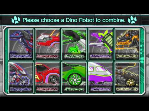 Мультфильм игры для детей Сборка скелет динозавра #28