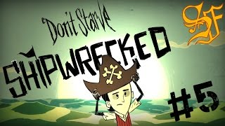 Don't Starve: Shipwrecked - Камин, рейд за какахами и готовка #5