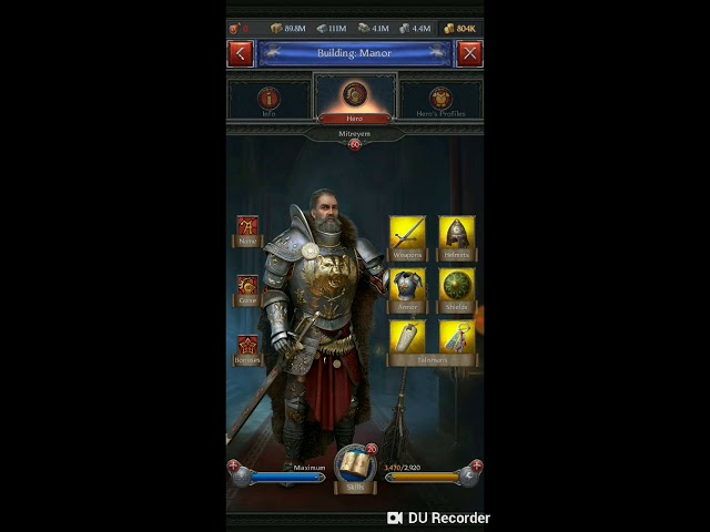 Throne Kingdom At War Hero Skills And Gear Combat Series Part 3 Youtube