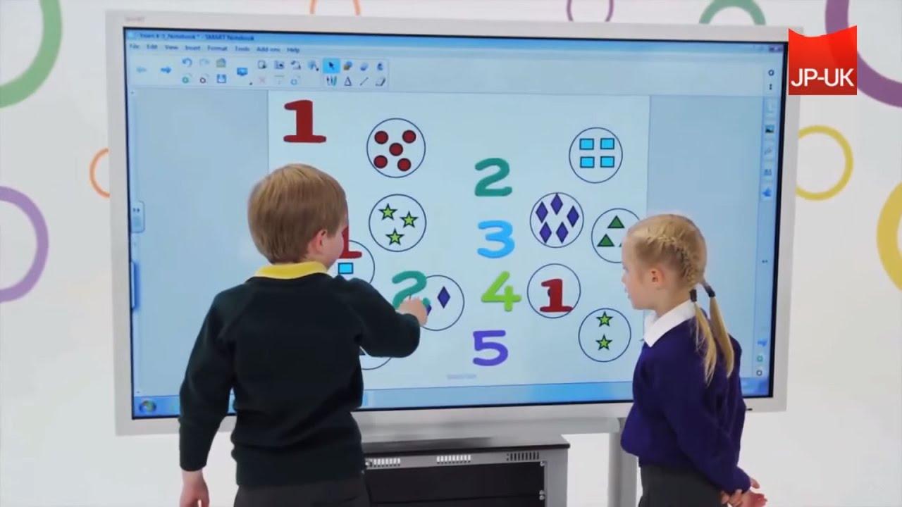 Smart Board E70 Interactive Flat Panel Youtube