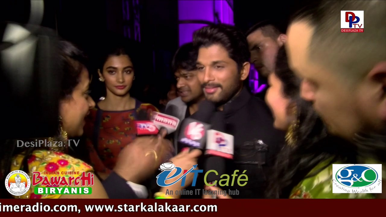Allu Arjun - DJ Team speaks to DPTV at NATS Sambaralu 2017