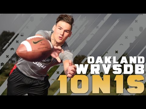 Nike Football's The Opening Oakland 2016 | WR vs DB 1 on 1's