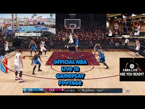 Official Full Nba Live 18 Gameplay/The Drew And The One And
