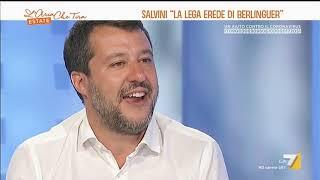 Le parole di Matteo Salvini su Enrico Berlinguer scatenano il Web