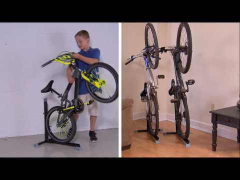 bike nook senkrechter fahrradst nder mediashop tv youtube. Black Bedroom Furniture Sets. Home Design Ideas