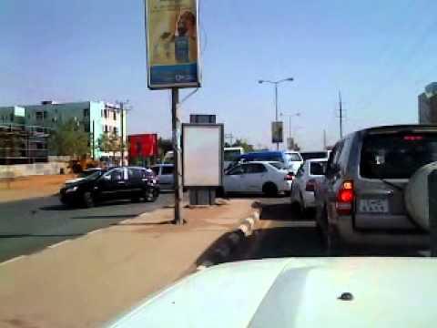 Khartoum driving
