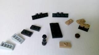 Маленький танк из Лего видео урок (1#)