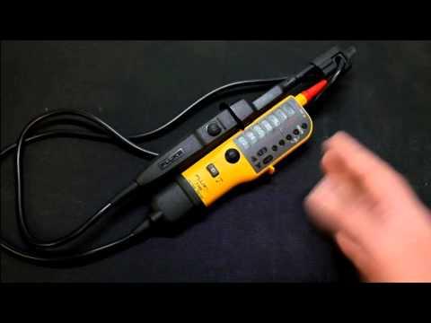 Episode 39   Fluke T110 Voltage Tester & Testing Single and 3 Phase Power