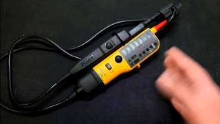 Episode 39   Fluke T110 Voltage Tester & Testing Single and 3 Phase Power