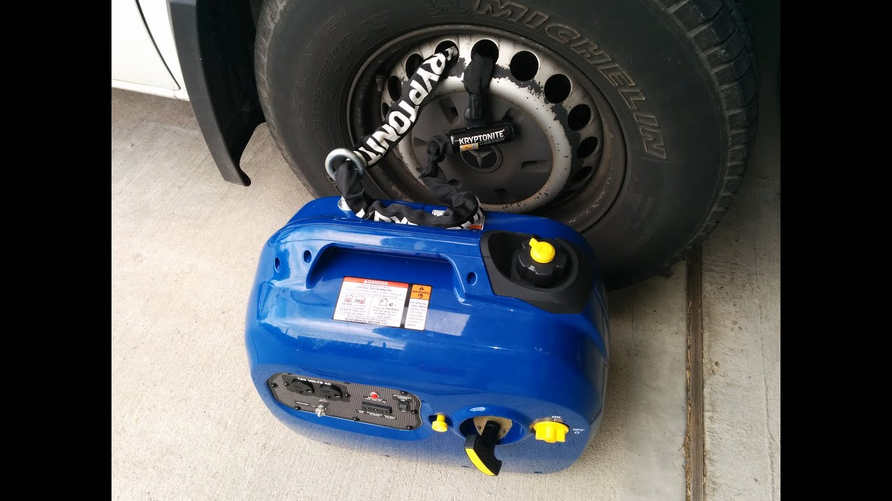 Portable Generator HOW TO secure it