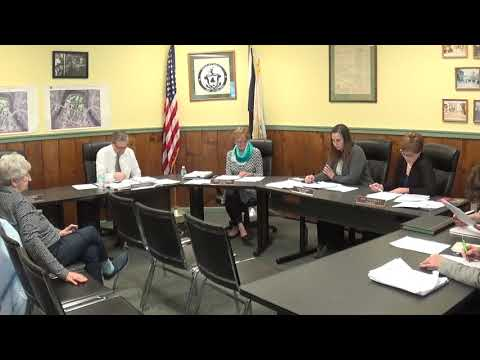 Champlain Village Board Meeting  4-1-19