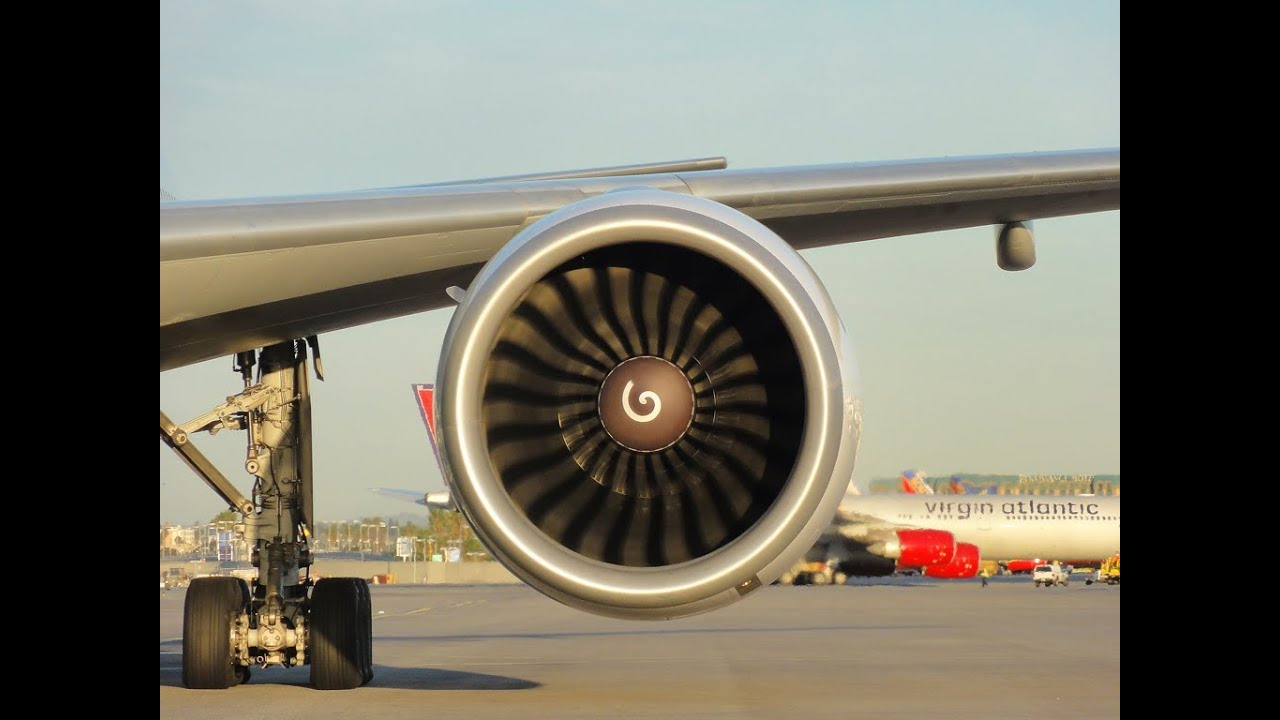 General Electric GE90-115B Engine - The Best In the World - YouTube