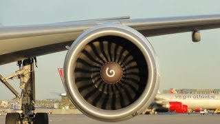 General Electric GE90-115B Engine - The Best In the World