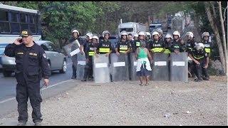 Protestas en Chomes en favor de Ley TECOCOS (24 de febrero, 2014)