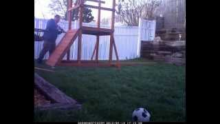 Building Gorilla Playsets Playground  - Time Lapse - Day 1