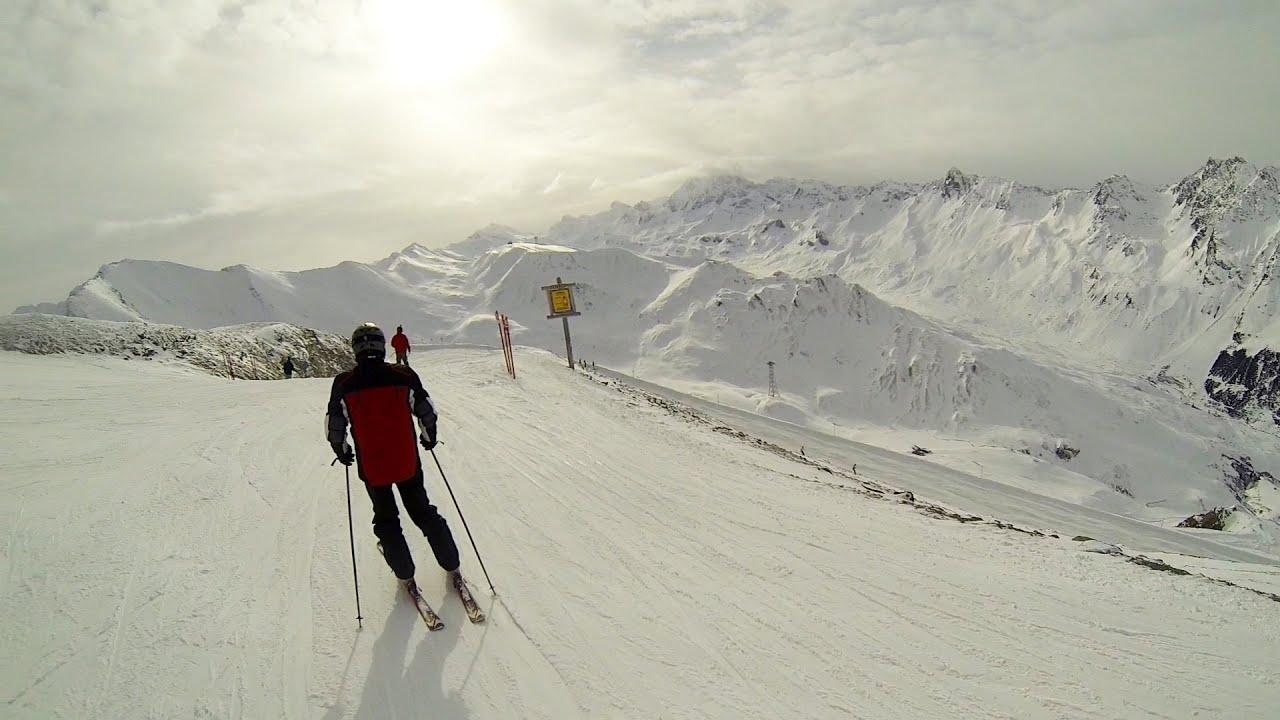 Ишгль Горнолыжные курорты Австрии Красивейшие пейзажи и опасное падения Ischgl Austria Ішгль Австрія