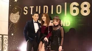 Isaac cặp kè hotgirl mới đi dự tiệc của Ngô Thanh Vân