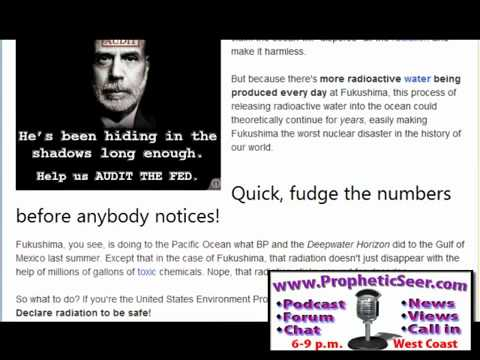 EPA LIES!!! SHOCKING NEW INFORMATION Radiation levels rise in USA water supply! POLITICALSEER