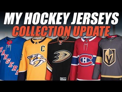 My Hockey Jerseys - Collection Update!