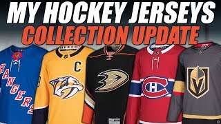 My Hockey Jerseys - Collection Update!