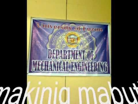 university of luzon Mechanical Engineering :)
