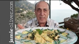 Gennaro Makes Ricotta Ravioli
