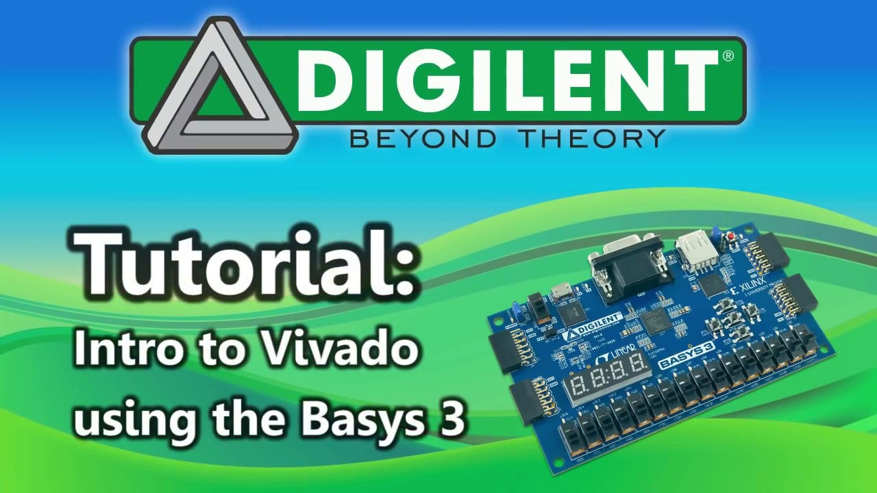 Digilent - Getting started with Vivado and Basys 3