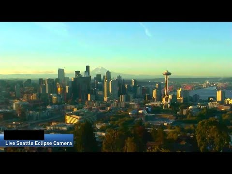 LIVE: Solar Eclipse Seattle HD Camera