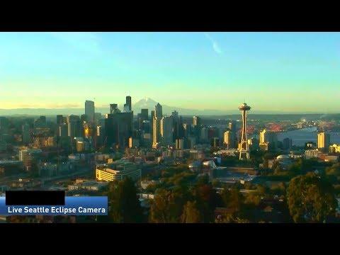 LIVE: Solar Eclipse Seattle HD Camera