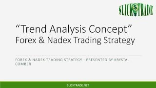 Enhanced Trend Analysis Concept Forex and Nadex Strategy