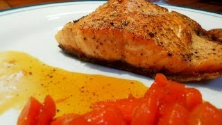 Seared Salmon With Blood Orange Glazed Carrots | Pescafoodie ⚓ Episode 6