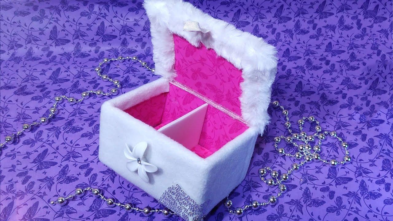 Easy Diy Jewelry Box With False Bottom Diy Makeup Organizer Best