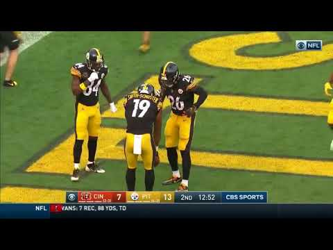 Celebration Of The Year: Steelers Play Hide And Seek After Scoring Touchdown