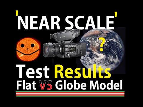 Near-Scale Model Test Of Globe - Pass or Fail (Flat Earth)
