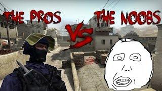 CS:GO Pros vs. Noobs