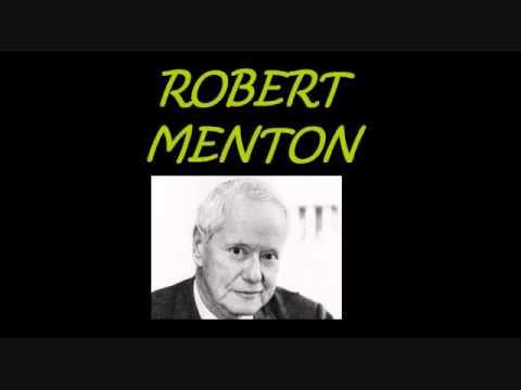 Talcott Parsons Robert Merton