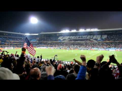 Post Donovan Goal vs Algeria in Pretoria USA Supporters Section