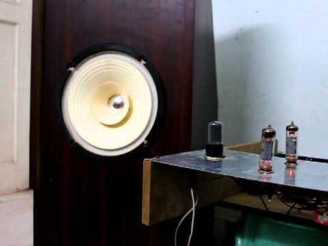Diy full range speakers and el84 single ended amp  MOV