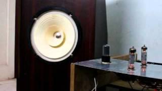 Diy full range speakers and el84 single ended amp  .MOV