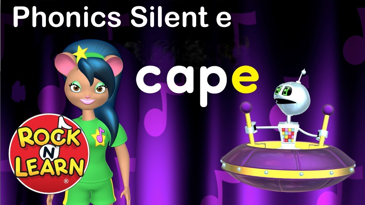 medium resolution of Learn Long Vowels with Silent e   Phonics for Kids   Silent e Song - YouTube