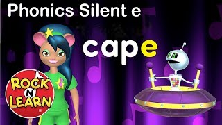 Learn Long Vowels with Silent e | Phonics for Kids | Silent e Song