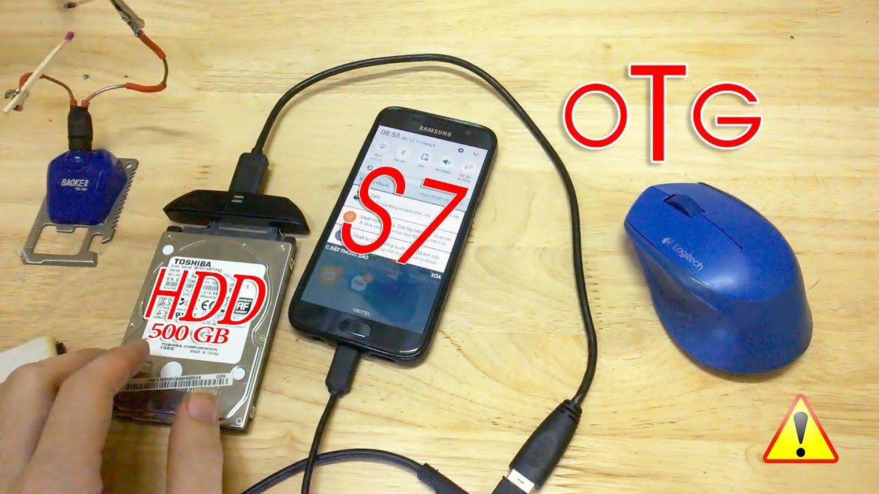 cách chế cáp USB OTG đơn giản sử dụng kết nối  smartphone với chuột – bàn phím – usb