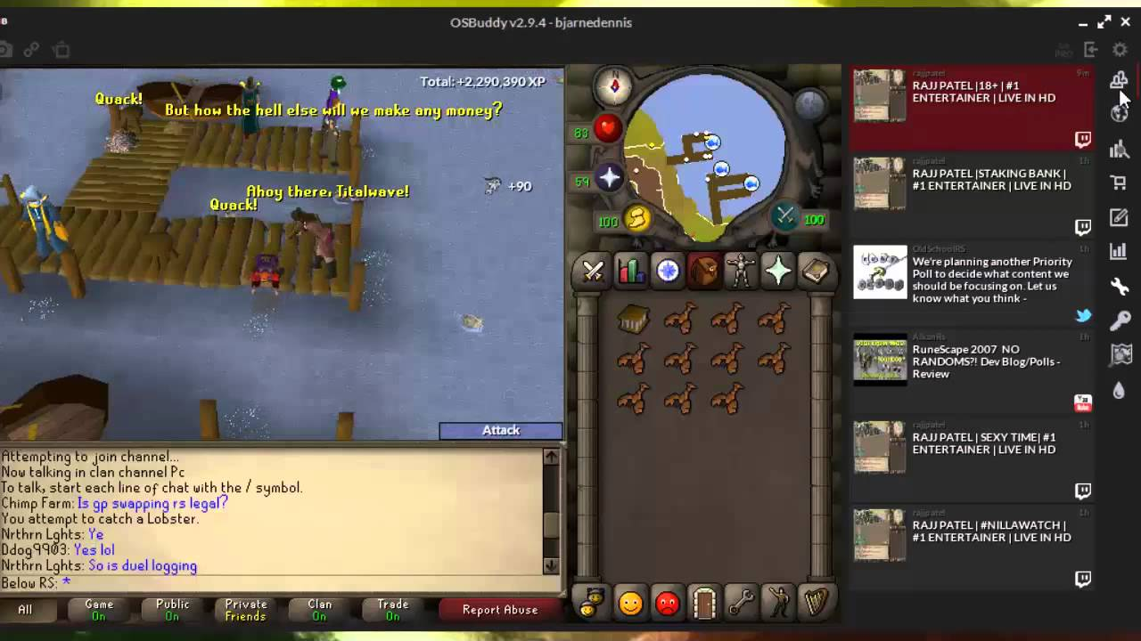 What is osbuddy/orion client (Old school RuneScape Client) (2007-2013-2015)