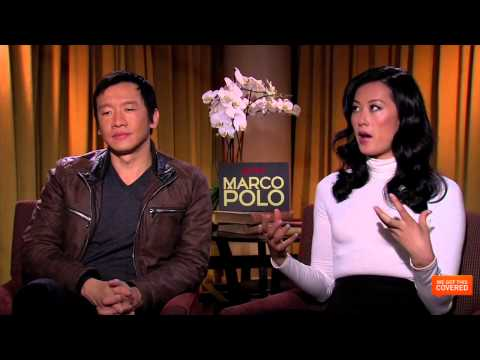 Marco Polo Interview With Benedict Wong, Lorenzo Richelmy and More [HD]