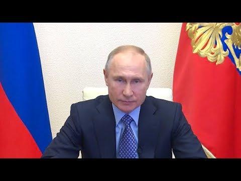 Путин: Режим самоизоляции оправдан и необходим
